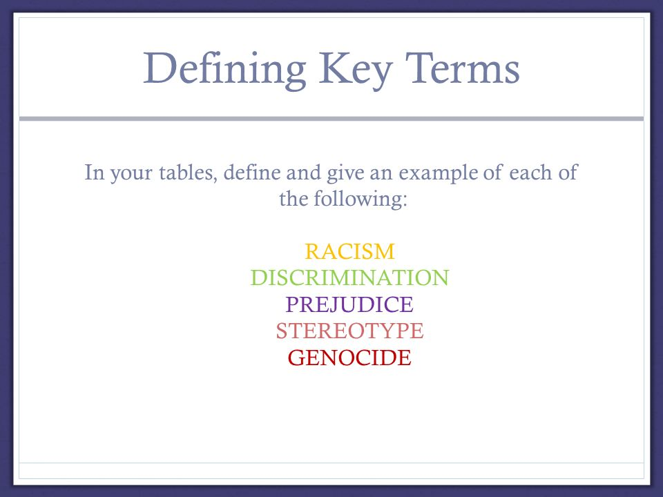 the importance of respect in resolving social issues such as discrimination and racism Race, racism, and discrimination: bridging problems, methods, and theory in social psychological research author(s): lawrence d bobo and cybelle fox  race, racism, and discrimination: bridging problems, methods, and theory in social psychological research  transform those social categorizations in addition, such categorizations have direct.