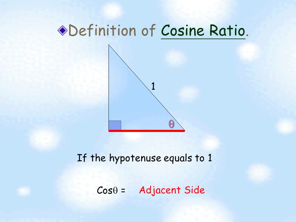 There Are 3 Kinds Of Trigonometric Ratios We Will Learn Sine Ratio