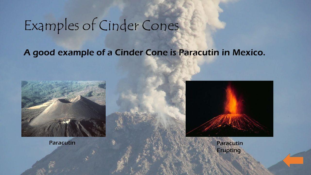 Volcanoes Eric Pergine Main Menu Types Of Volcanoes Cinder Cones