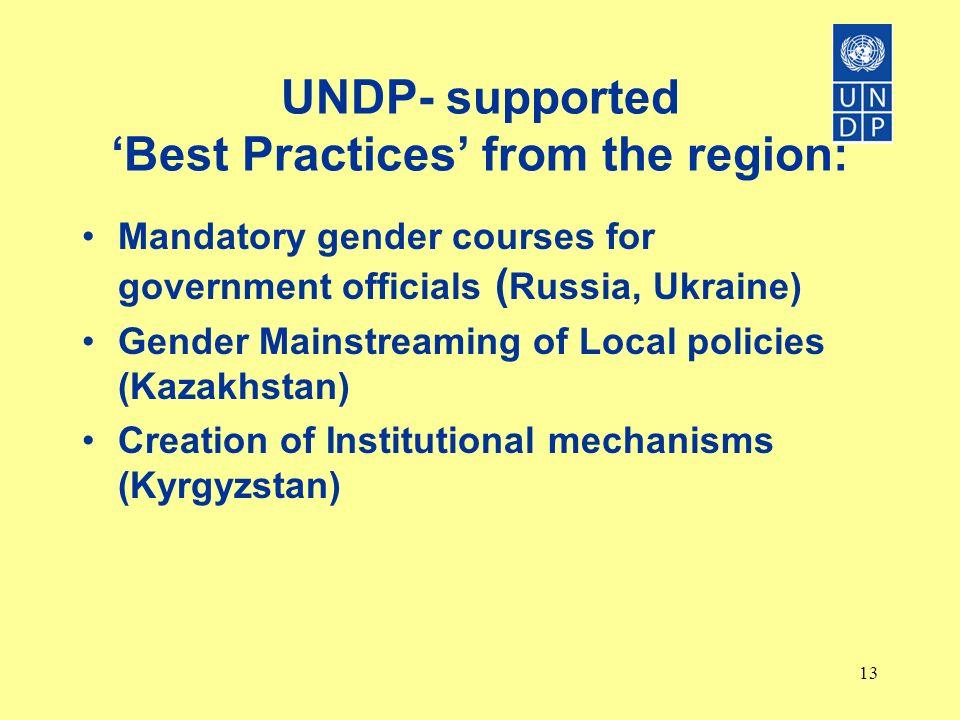 Gender Budgeting: a tool for change? By Dono Abdurazakova, UNDP