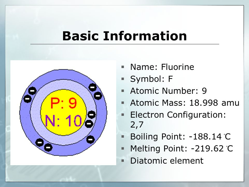 Fluorine F Highly Toxic Refrigerants Gas Basic Information