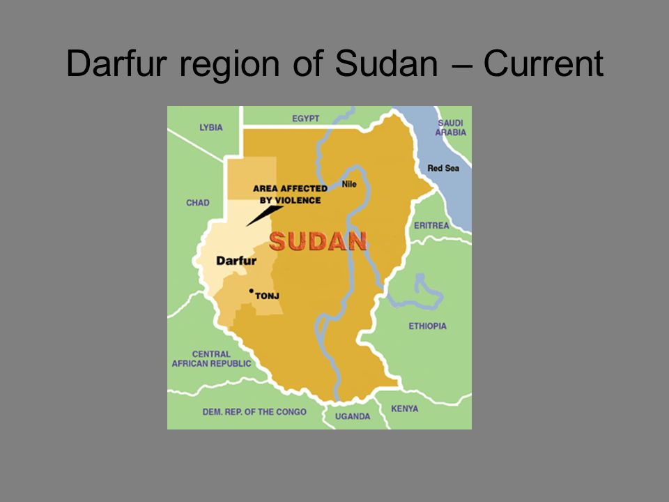 Darfur region of Sudan – Current