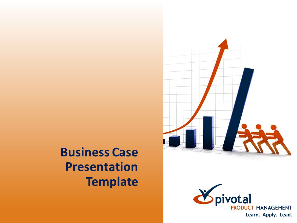 Business case presentation template business case presentation 1 business case presentation template accmission Images