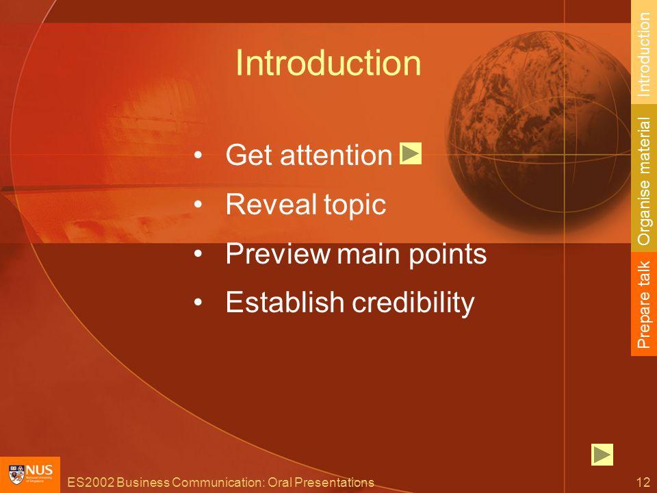 Good oral presentations business communication.