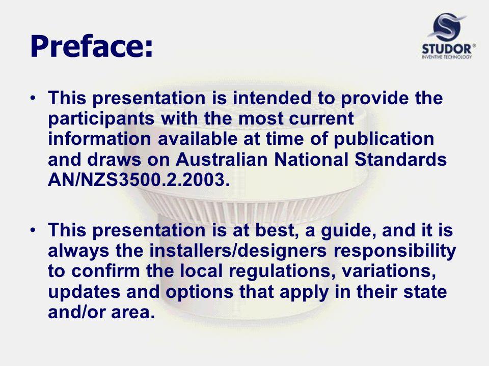 STUDOR® AUSTRALIA Presents Active Venting System Design