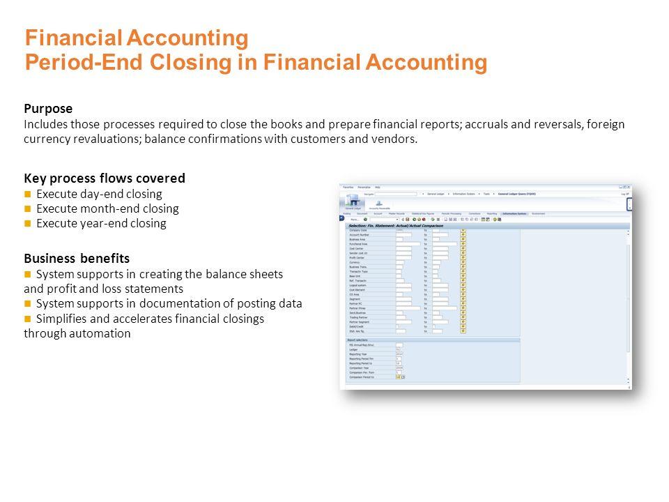 SAP ERP Finance & Controlling Solutions  Financial