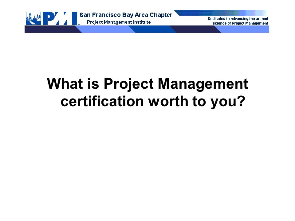 Pmp Certification What It Is Why You Need It How You Achieve It
