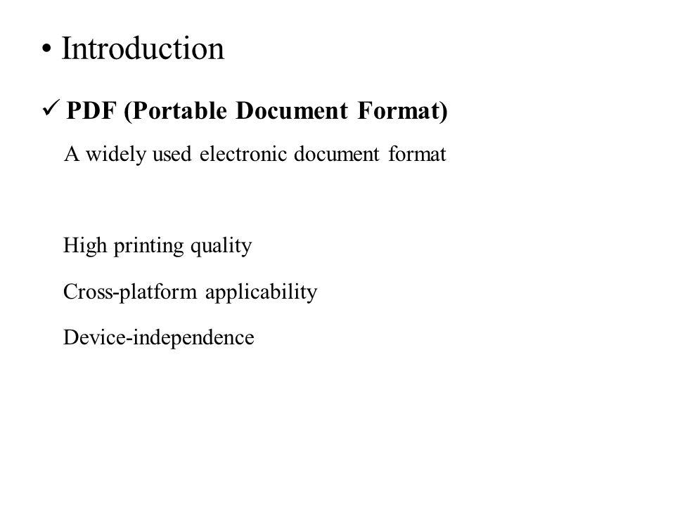 Three Novel Algorithms for Hiding Data in PDF Files Based on
