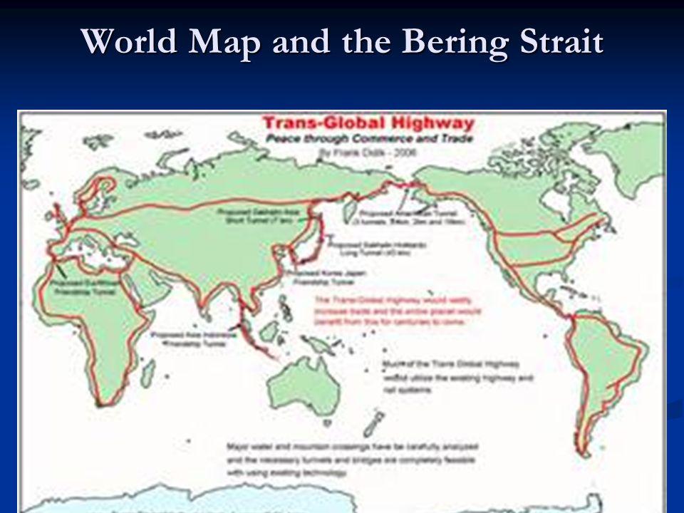 World Map Bering Strait.Unit I Part I The Native Americans Origins Of The Native Americans