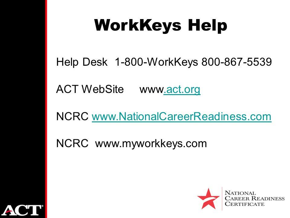 Great 36 WorkKeys Help Help Desk ... Amazing Pictures