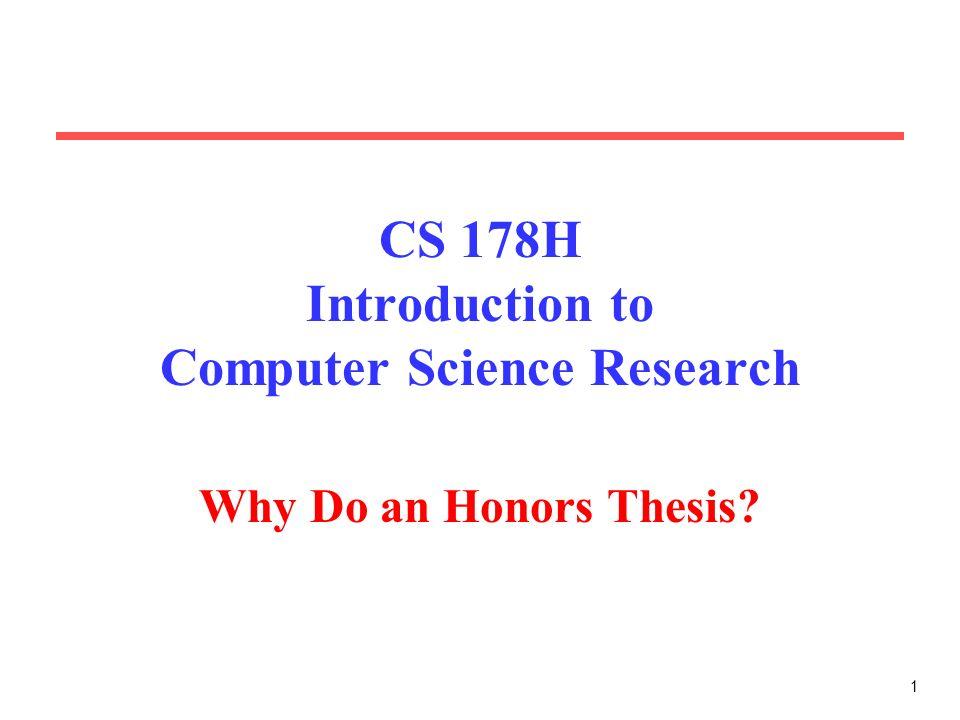 undergraduate thesis ideas
