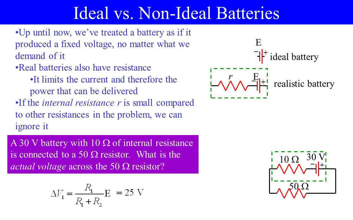 Circuit Basics Direct Current Dc Circuits 15 V Wire Open Wiring The Voltage Divider Many Can Be Thought Of As A Intentionally