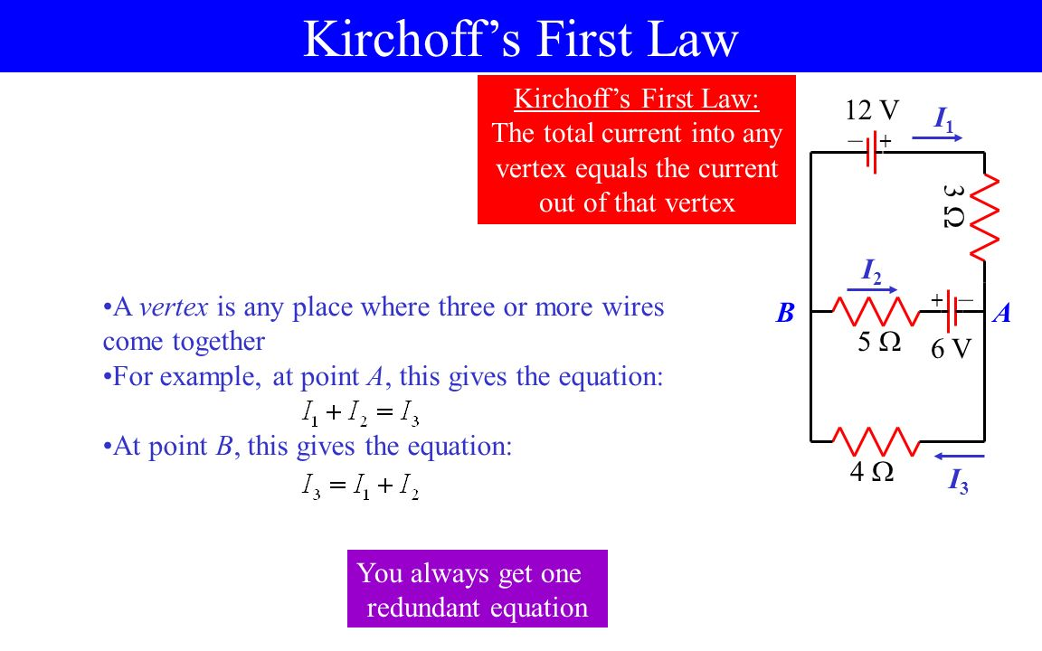 Circuit Basics Direct Current Dc Circuits 15 V Wire Open House Wiring Voltage Formula 7 Kirchoffs