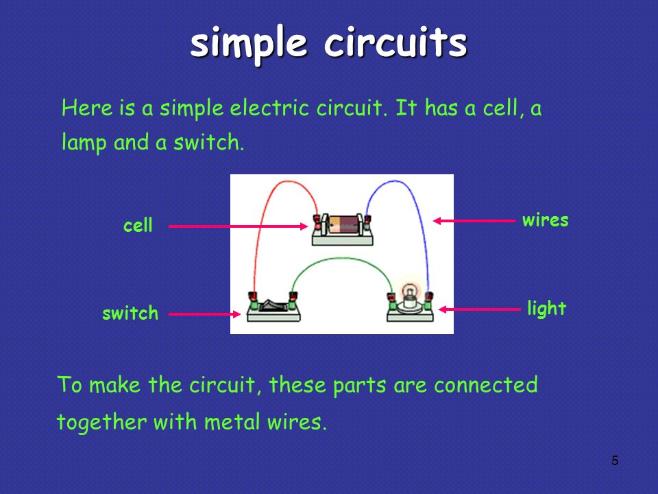 Electrical Circuits And Component Symbols 1 Some Circuit Symbols In