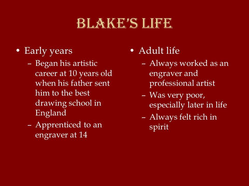 william blake life