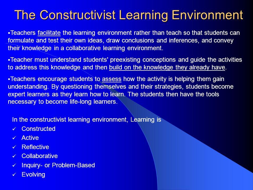 constructivist learning environment