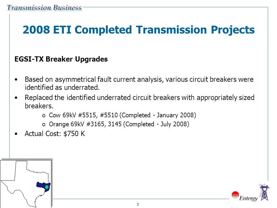 1 Entergy Texas, Inc  Proposed Transmission Reliability