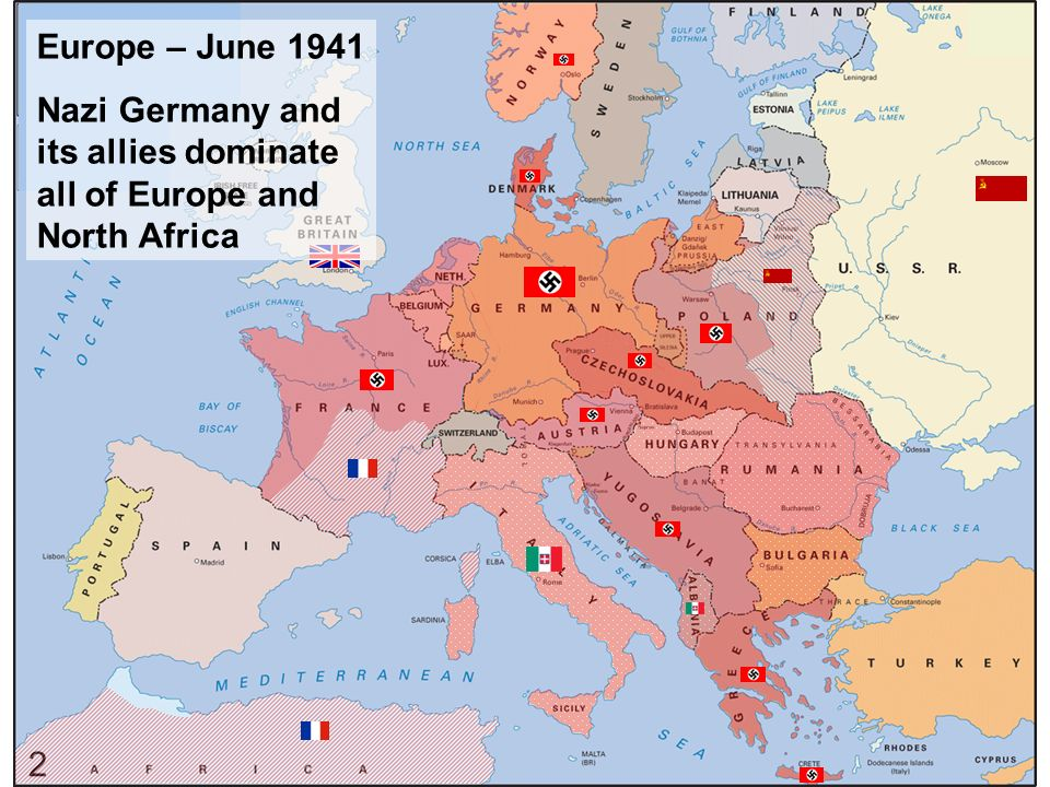 World War Ii European Theater Barbarossa North Africa Sicily Ppt Download