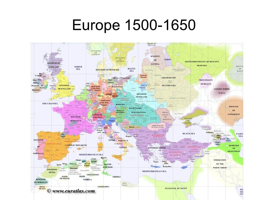 Europe Outwards vs. Inwards Inwards: Ming China Early 15th century ...