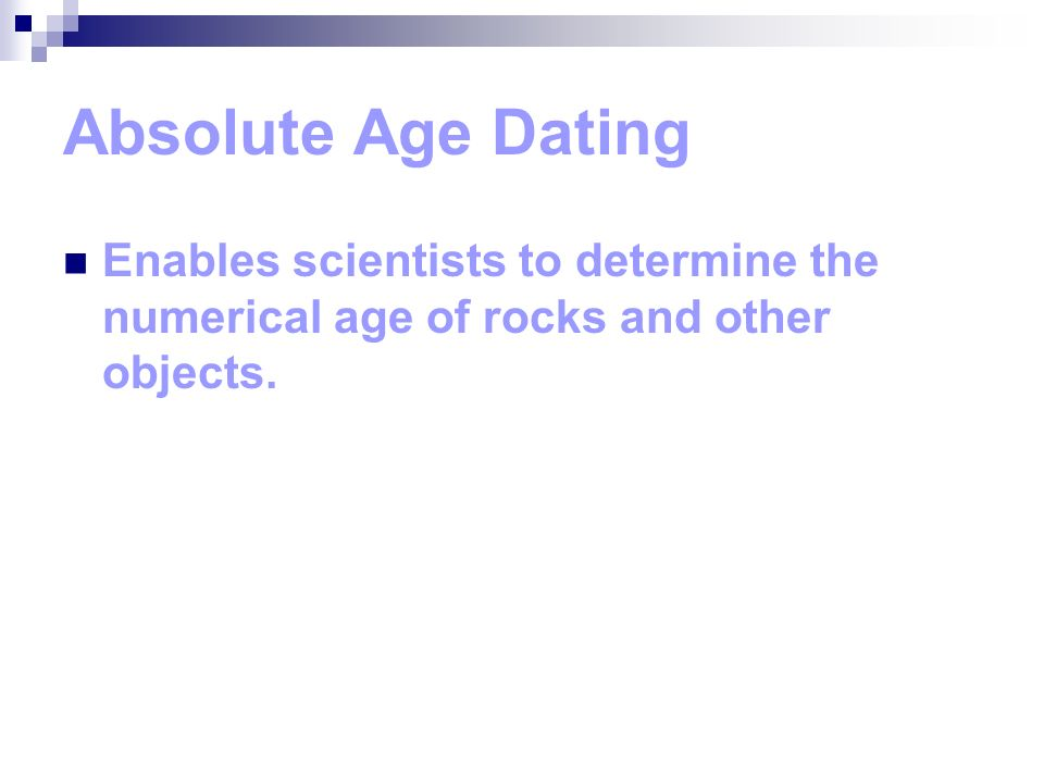 21.3 absolute age dating of rocks answers