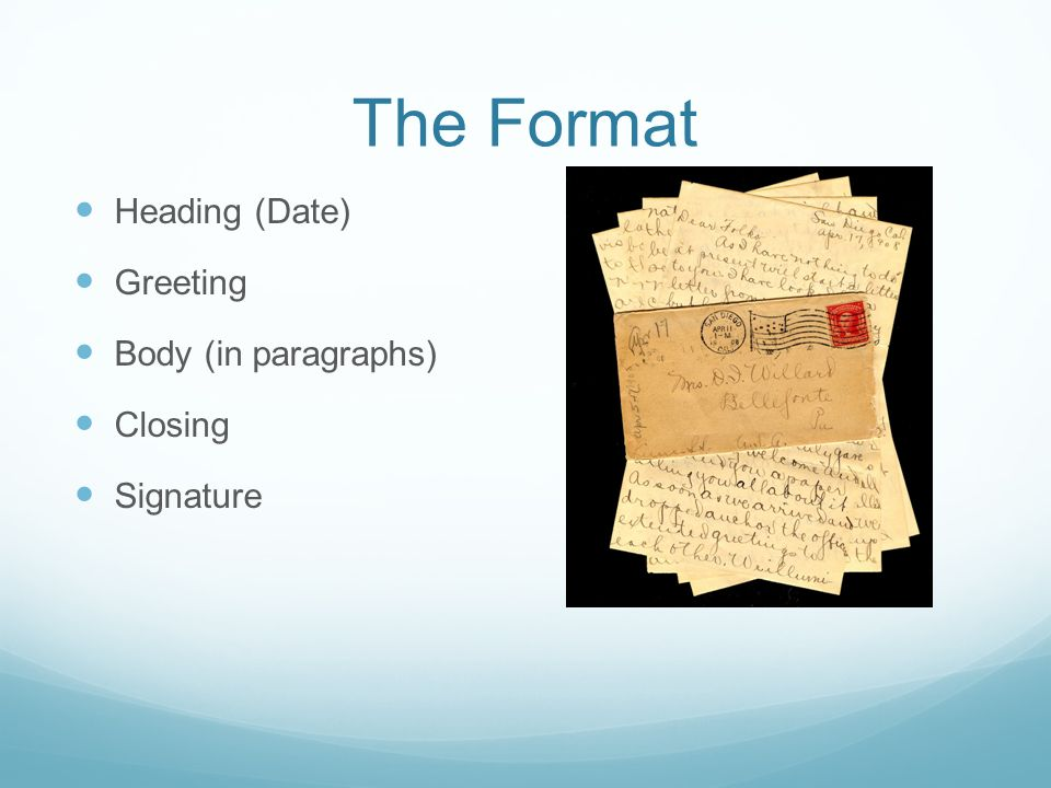 Friendly Letter Writing Guide What Is A Friendly Letter Less
