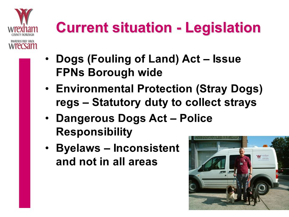 Dog Control Orders Clean Neighbourhoods & Environment Act