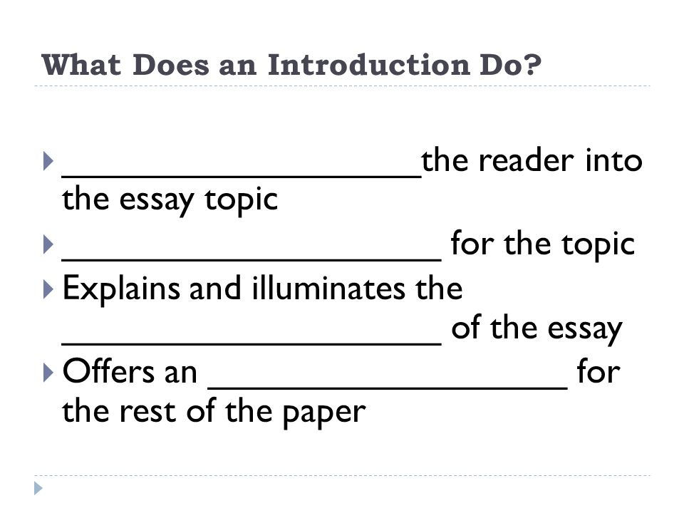 Is A Research Paper An Essay What Does An Introduction Do Thesis Statement Argumentative Essay also Essay Tips For High School The Components Of An Essay English  Student Notes  Ppt Download Learning English Essay Example