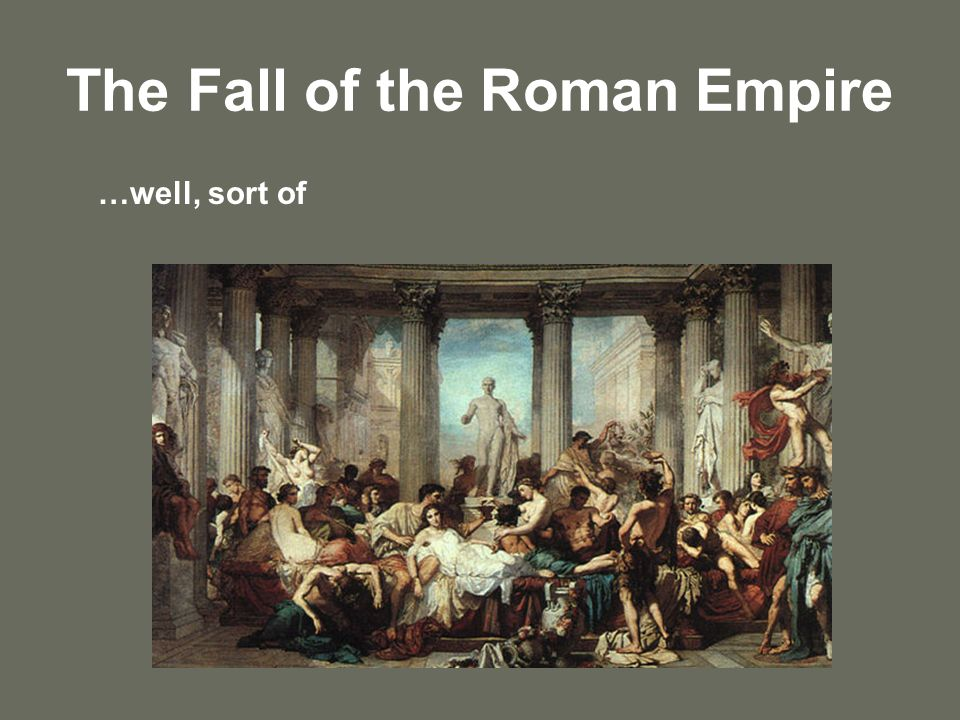 Why did rome fall homosexuality