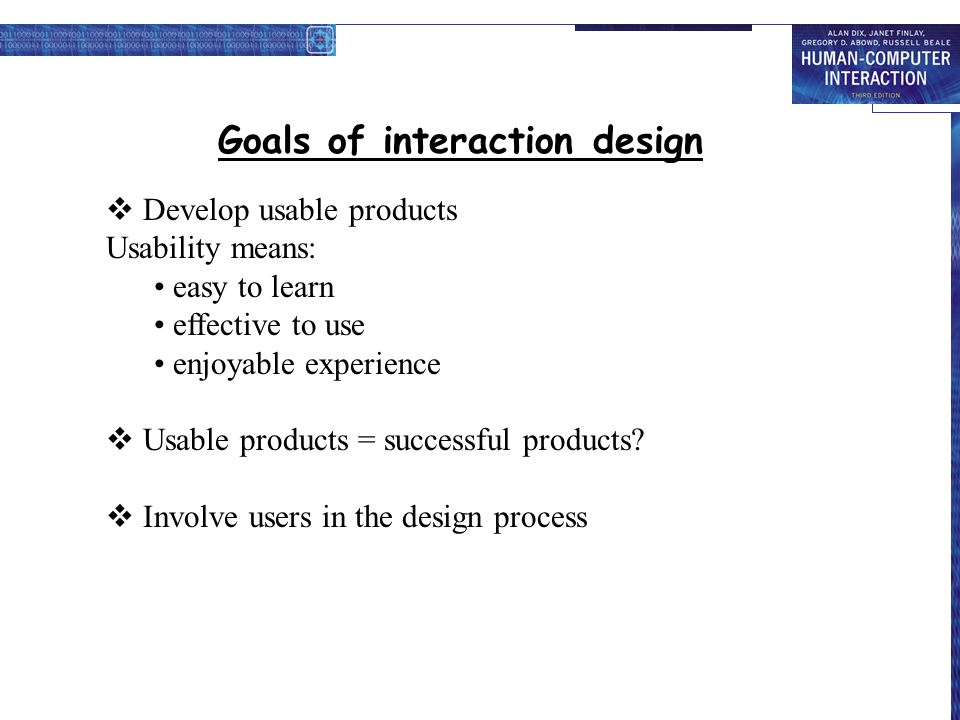 To Be Covered What Is Hci Goal Of Hci Hci An Interdisciplinary Area Concerns In Hci Interface And Interaction Design Goals Of Interaction Design Utility Ppt Download