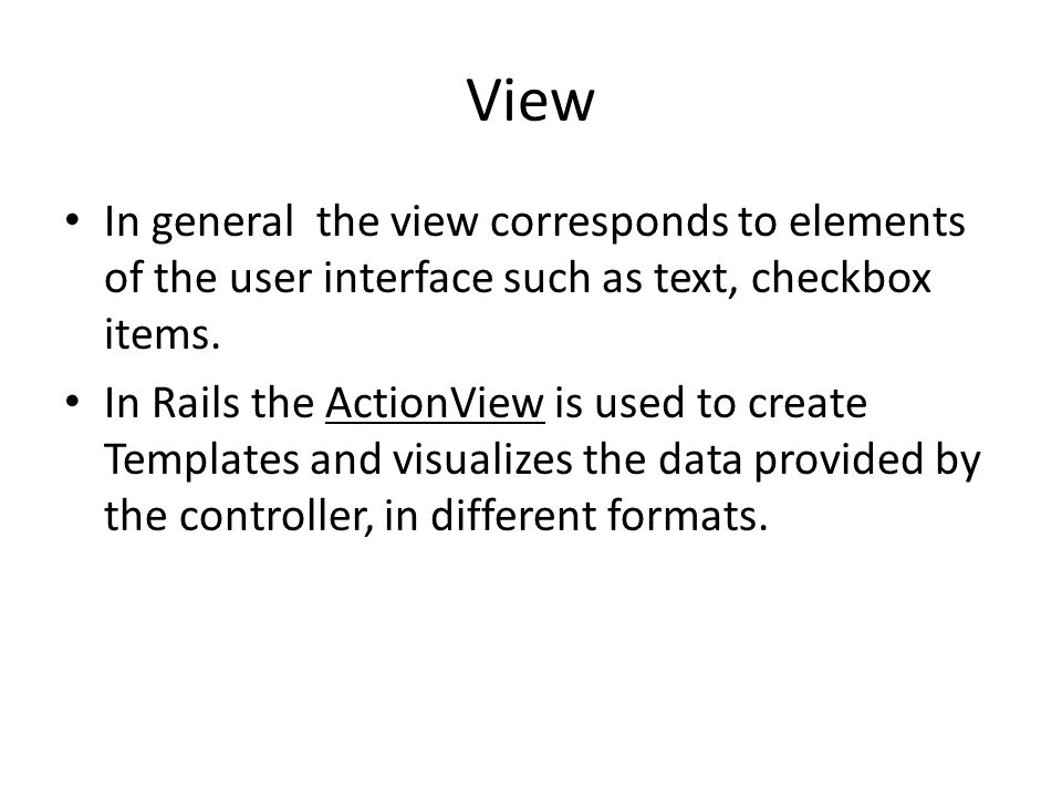 MVC & ActiveRecord by Christian Mohr & Mohamed Souiai  - ppt
