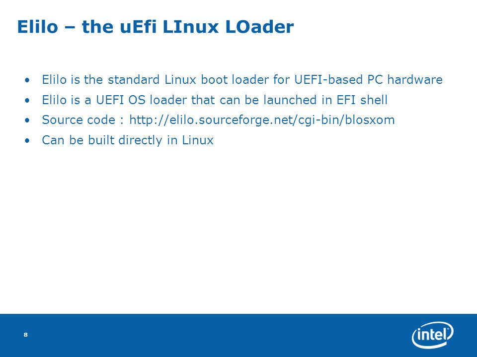 From UEFI Shell to Linux - UEF...