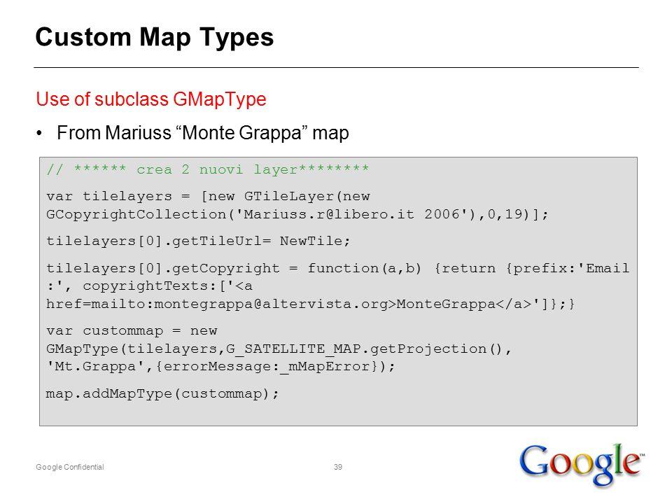 Google Confidential1 2 in a slide API Evangelist at Google