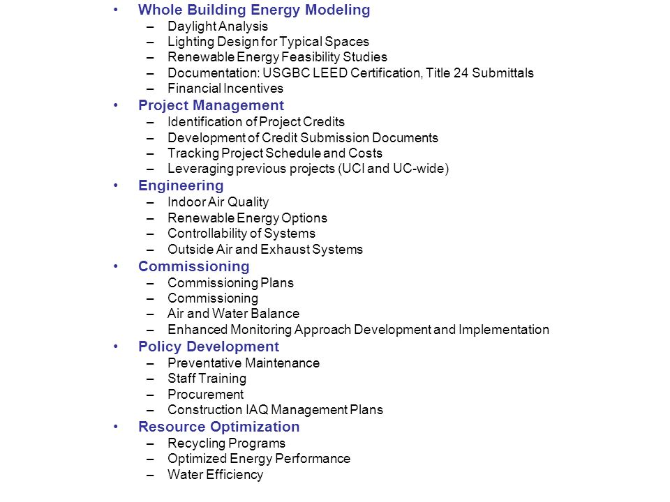 Leed Mechanical Economic Analysis Cost Reduction Strategies And