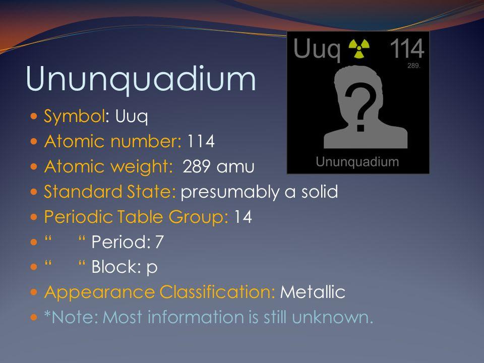Alex m chrissy b tim s dj introduction to the carbon family the 14 ununquadium symbol urtaz Image collections