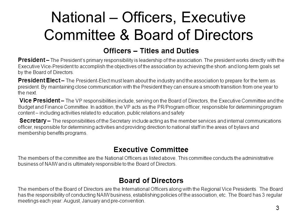 20 Key Board of Director Terms and Definitions