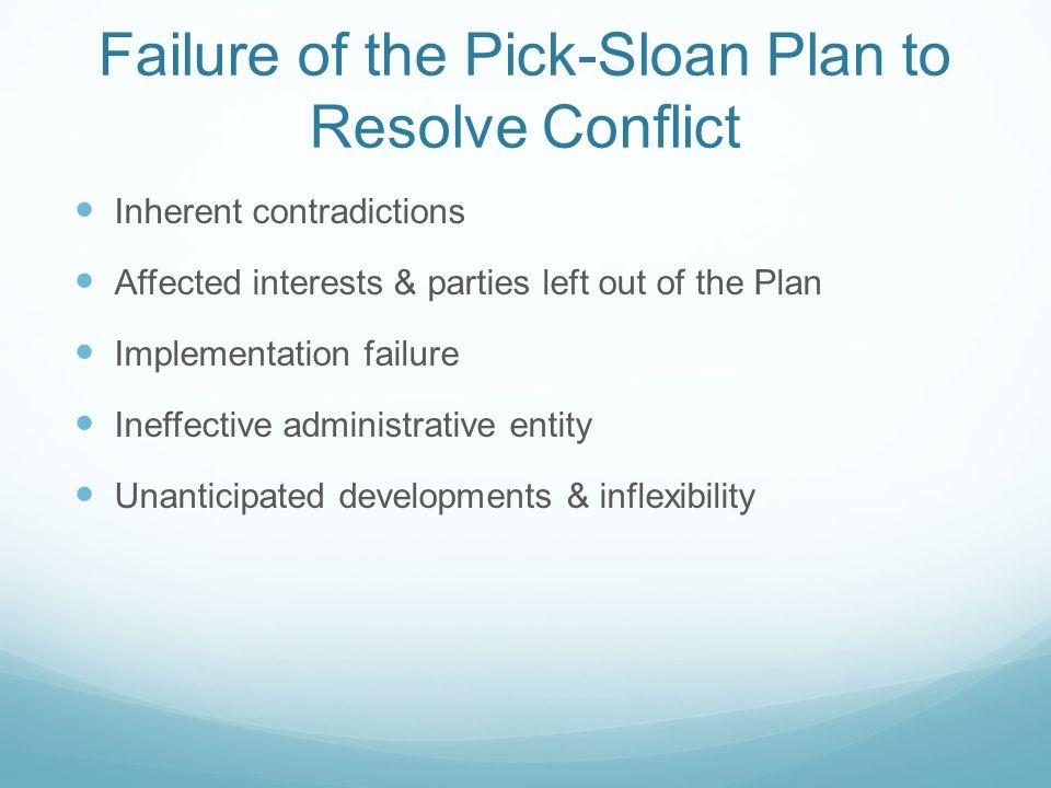 Perpetual Discord? Missouri River Conflict-Resolution Efforts John E