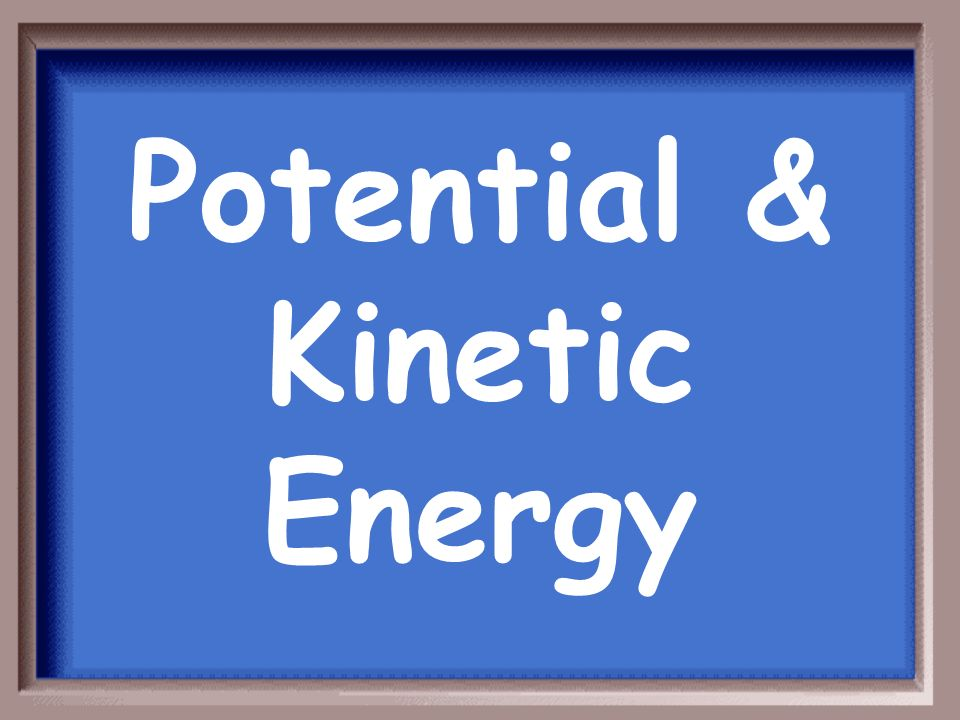 Energy Vocabulary