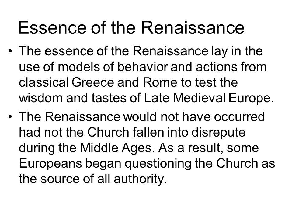 renaissance thinkers