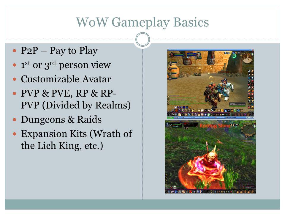 MMORPG CASE STUDY PRESENTED BY HYAE NA KO GLASSICK World of