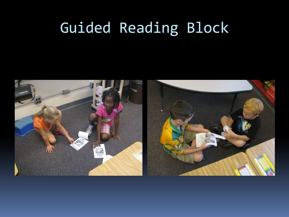 Guided Reading Block