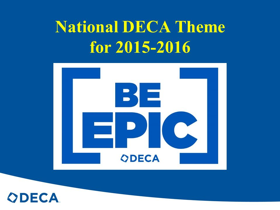 the official magazine of national deca