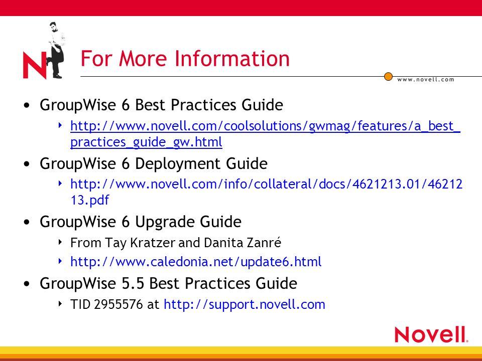 novells groupwise 5 users handbook