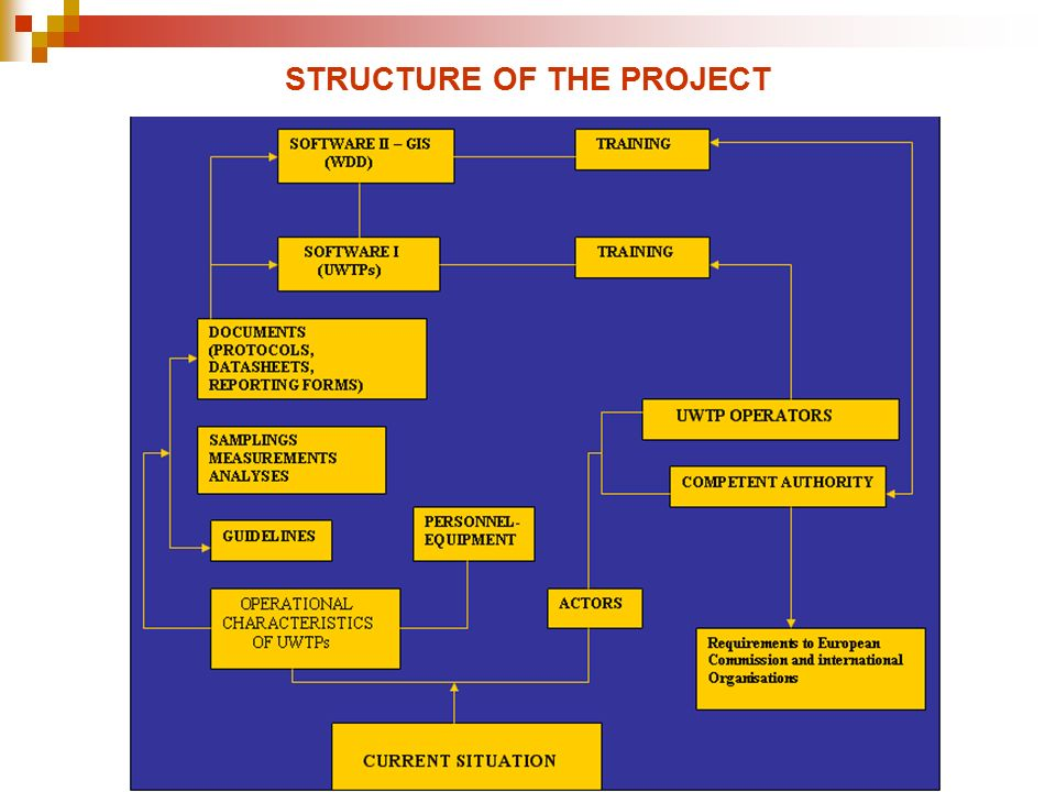 STRUCTURE OF THE PROJECT