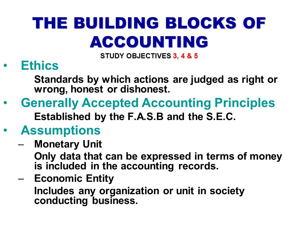 ethics in accounting and the accounting 12 ethics in accounting and finance learning objectives after reading this chapter you should be able to understand, ♦ the importance of ethics for a finance and accounting professional.