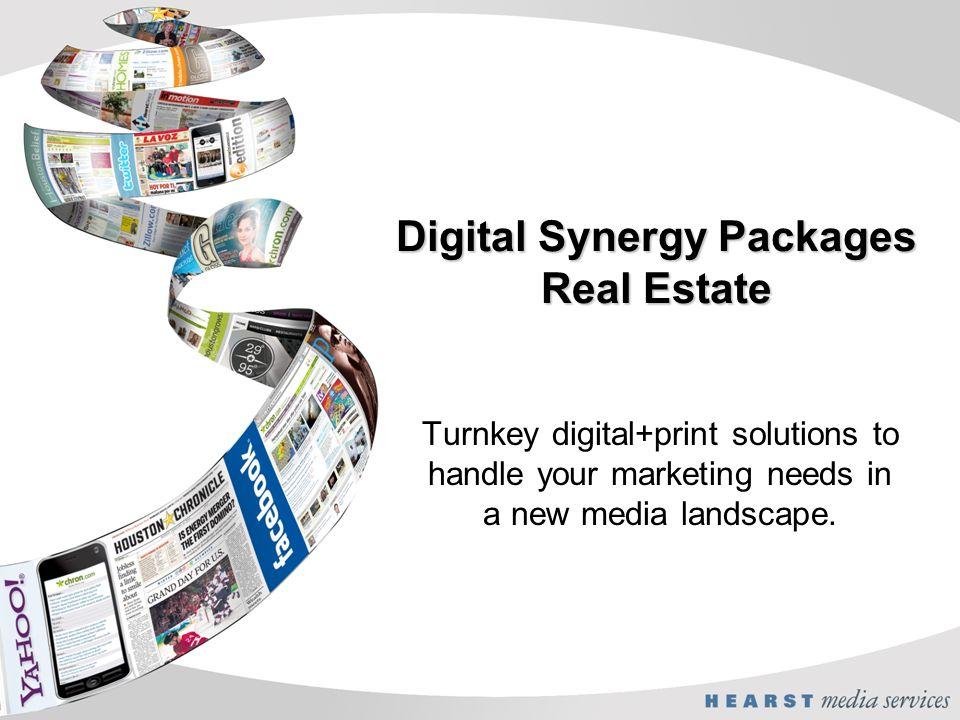 Digital Synergy Packages Real Estate Turnkey digital+print