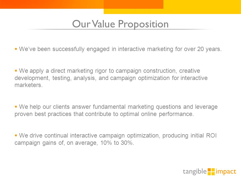 1. An Introduction to Tangible Impact May 9, ppt download - 웹