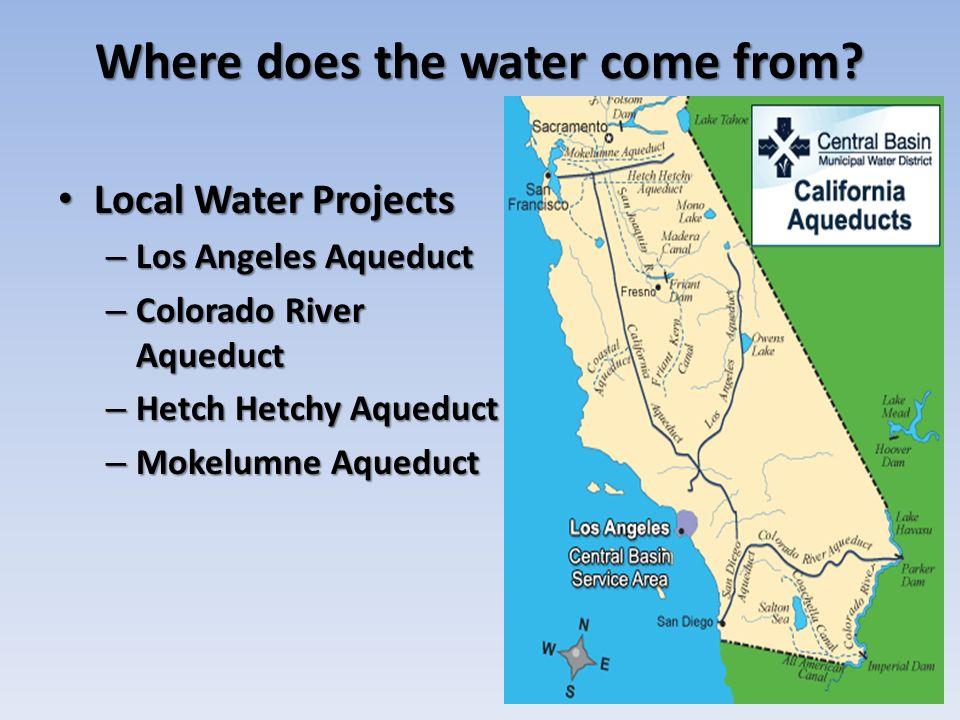 California Geology - 4 California Water Project California has ... on