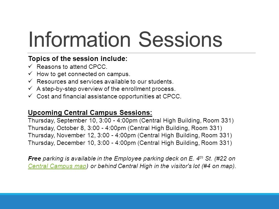 Cpcc Main Campus Map.Cpcc Transitional Resources Central Piedmont Community College At