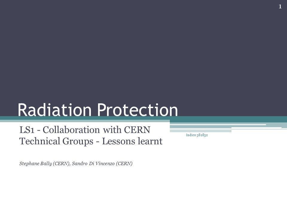 coupon code uk cheap sale release date Radiation Protection LS1 - Collaboration with CERN Technical ...