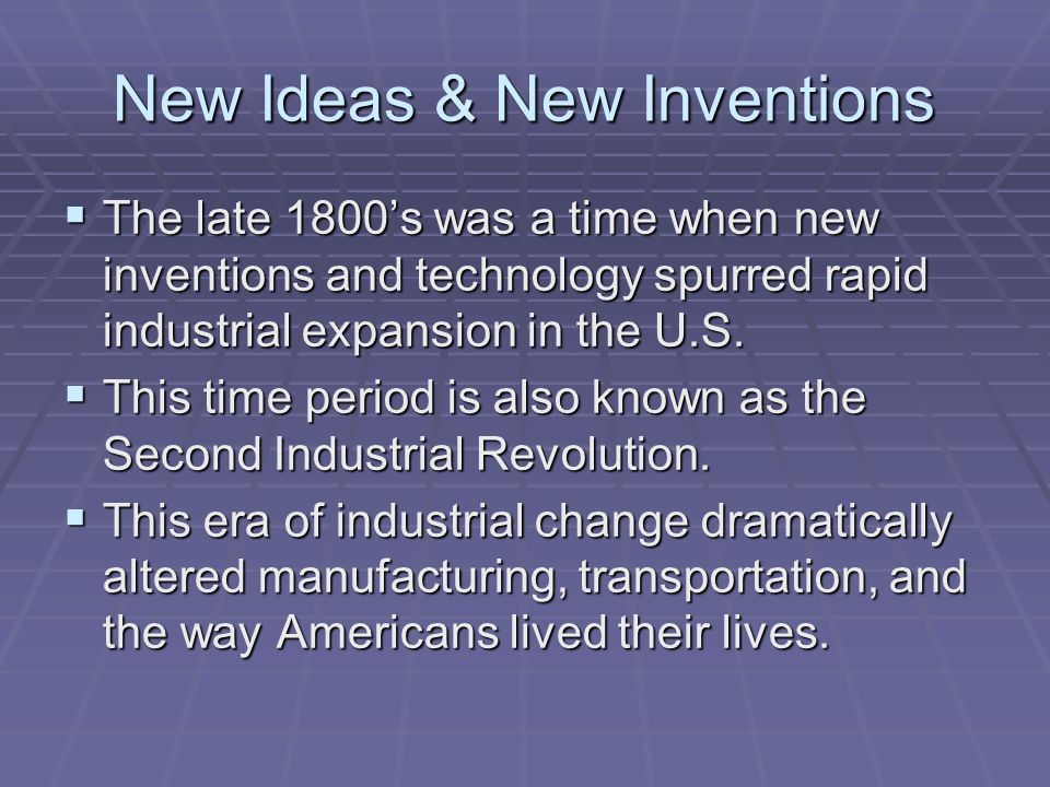 Becoming an industrial nation what are some inventions that have 3 what are some inventions that publicscrutiny Choice Image